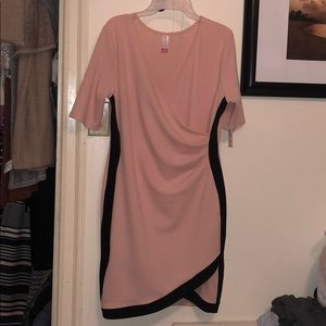 Dresses & Skirts - Pink and black tight dress